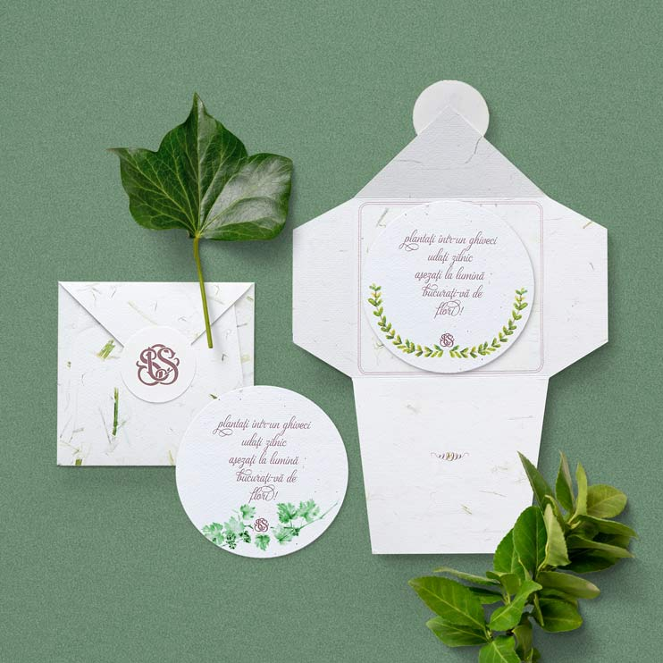 Plantable Favors - Marturie plantabila, Marturie nunta