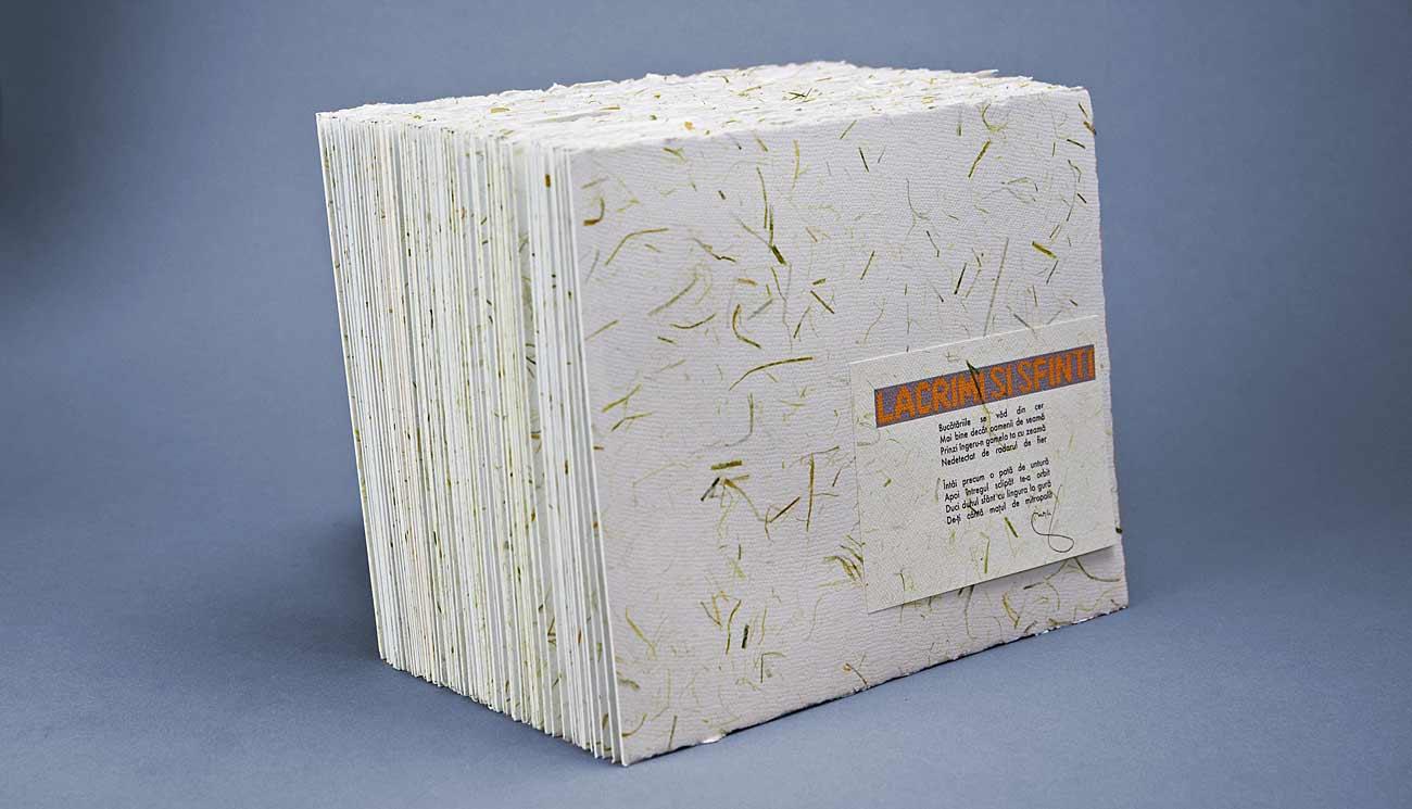 Plantable paper, Handmade paper, hartie manuala, hartie plantabila